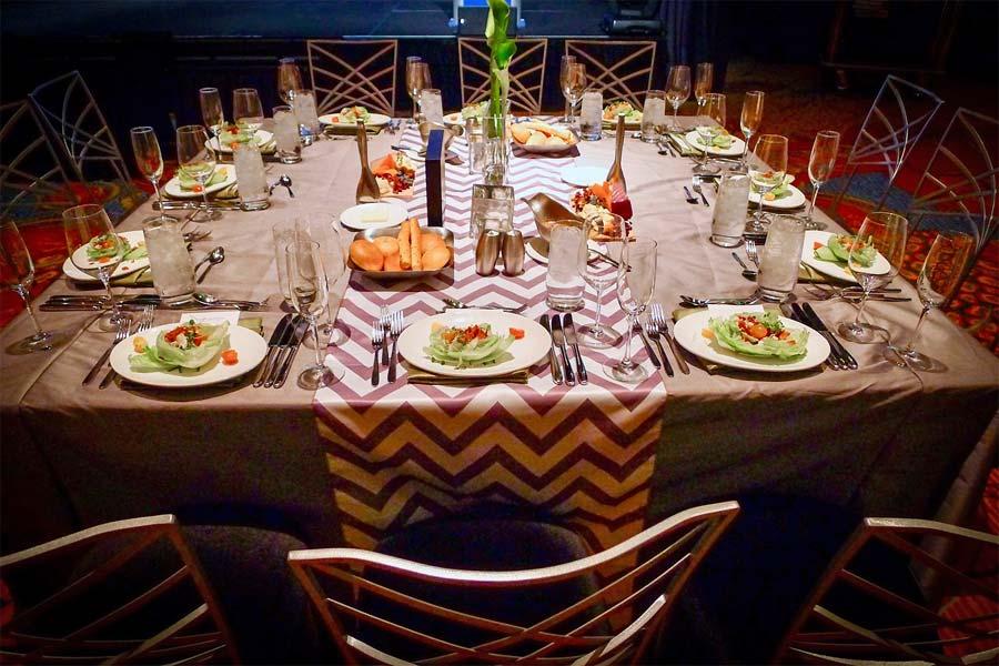 table settings linens