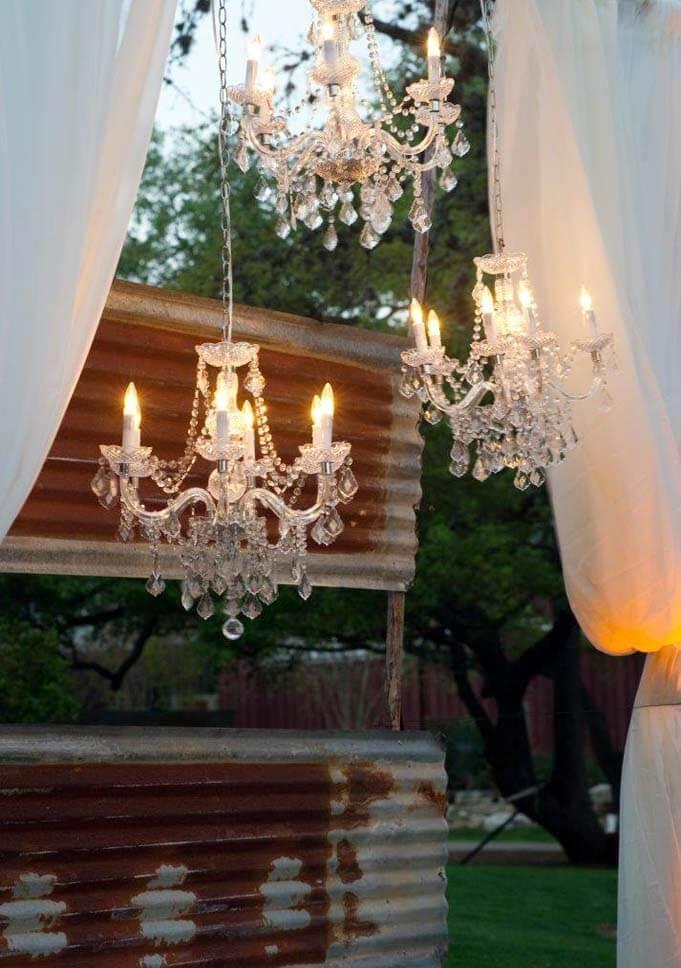 chandelier rental company san antonio