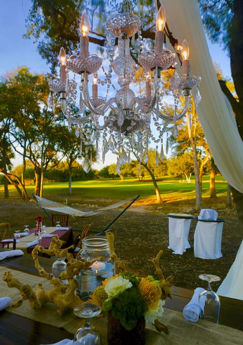 decor chandelier for events