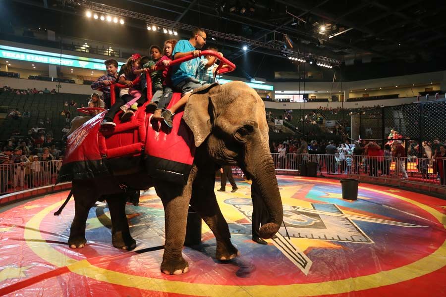 Shrine Circus ride